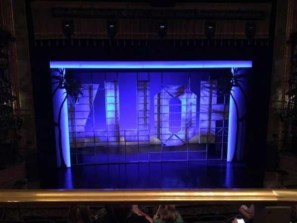 Nederlander Theatre, secção: Mezzanine C, fila: G, lugar: 111