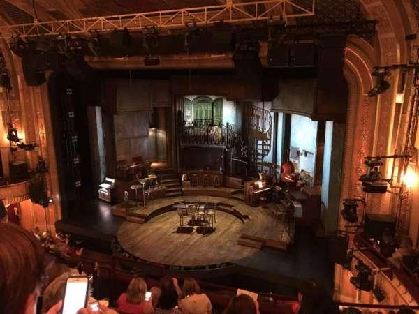 Walter Kerr Theatre, secção: Mezzanine R, fila: G, lugar: 14