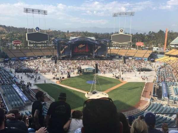 Dodger Stadium, secção: 3rs, fila: H, lugar: 6