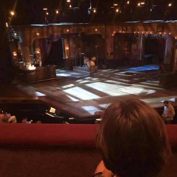Bernard B. Jacobs Theatre, secção: Mezzanine, fila: B, lugar: 105