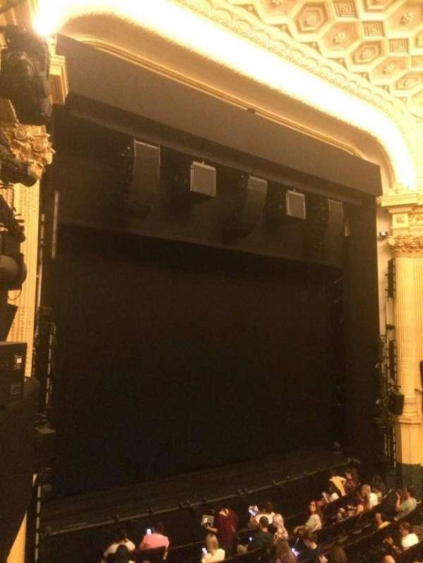 Hudson Theatre, secção: Dress Circle L, fila: A, lugar: 15