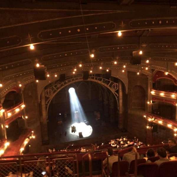 Lyric Theatre, secção: Balcony L, fila: F, lugar: 3