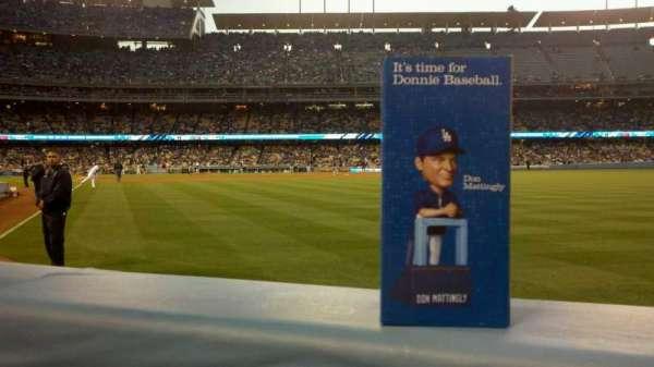 Dodger Stadium, secção: 50FD, fila: AA, lugar: 2