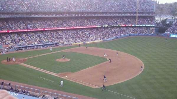 Dodger Stadium, secção: 32RS, fila: A, lugar: 6