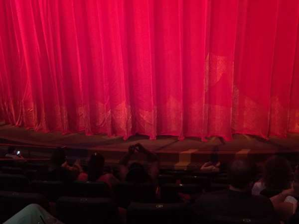 O Theatre, secção: 104, fila: G, lugar: 9