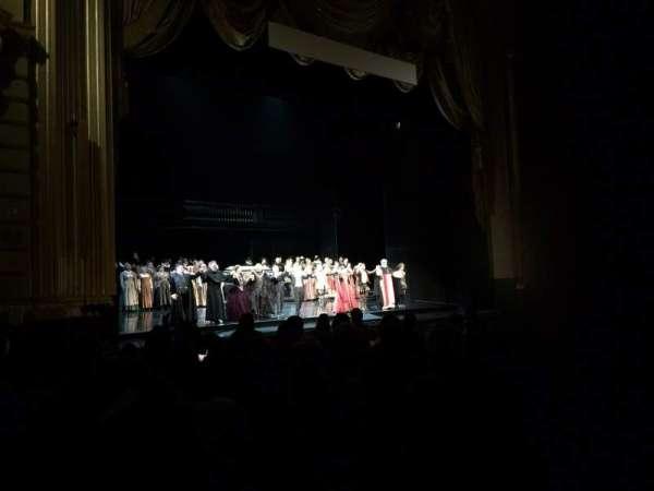 War Memorial Opera House, secção: Orchestra, fila: K, lugar: 13