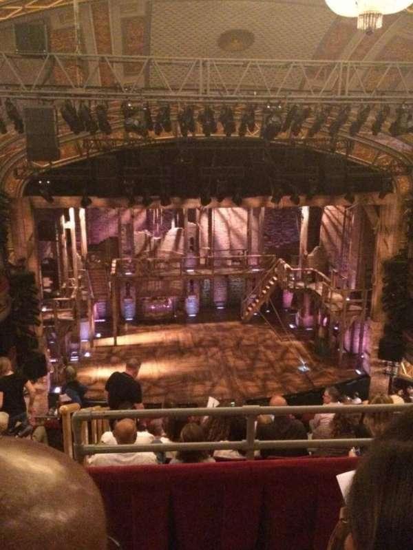 Richard Rodgers Theatre, secção: Rear Mezzanine C, fila: B, lugar: 114