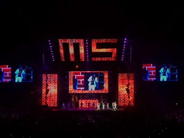 MGM Grand Garden Arena, secção: 1, fila: U, lugar: 5