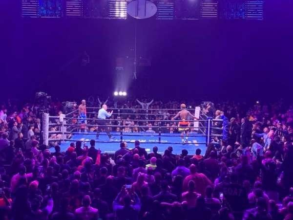 Toyota Arena, secção: 109, fila: H, lugar: 19