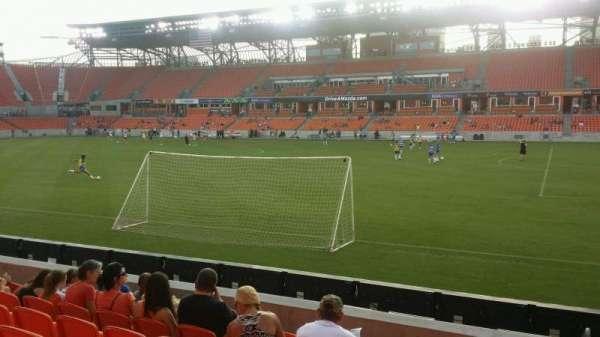 BBVA Stadium, secção: 124, fila: g, lugar: 1