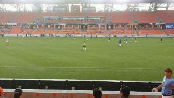 BBVA Stadium, secção: 125, fila: f, lugar: 10