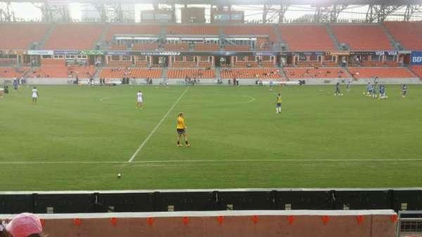 BBVA Stadium, secção: 126, fila: g, lugar: 6