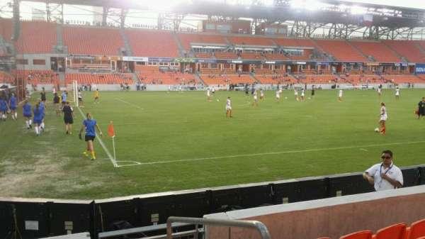 BBVA Stadium, secção: 130, fila: e, lugar: 1