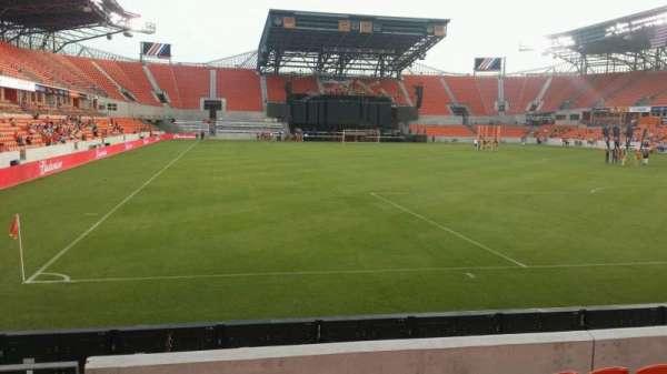 BBVA Stadium, secção: 117, fila: g, lugar: 26