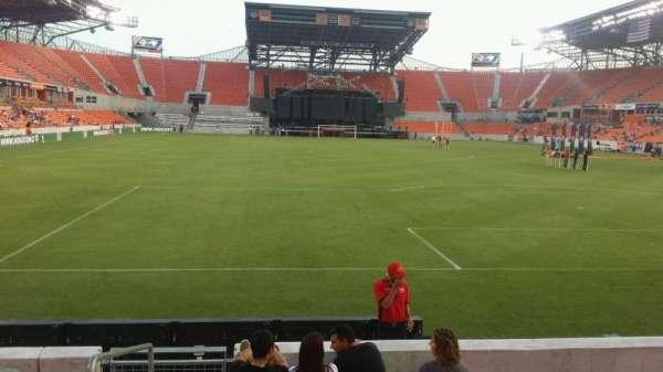 BBVA Stadium, secção: 116, fila: g, lugar: 28