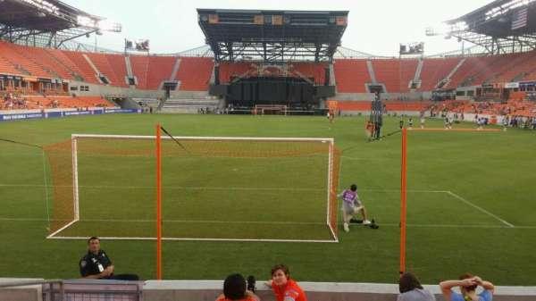 BBVA Stadium, secção: 115, fila: g, lugar: 25