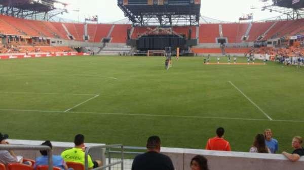 BBVA Stadium, secção: 114, fila: g, lugar: 27