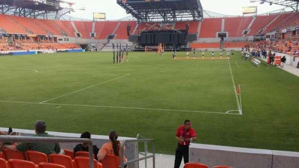 BBVA Stadium, secção: 113, fila: g, lugar: 25