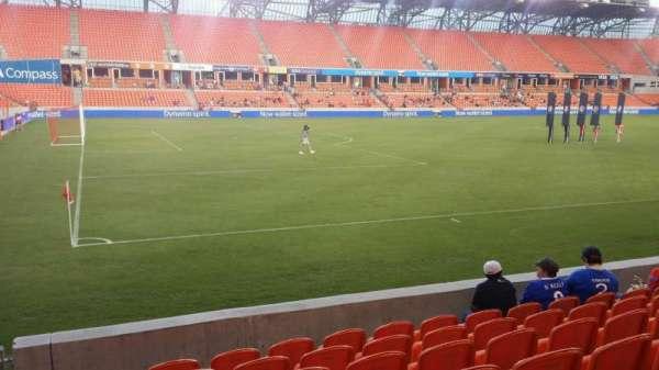 BBVA Stadium, secção: 109, fila: g, lugar: 28