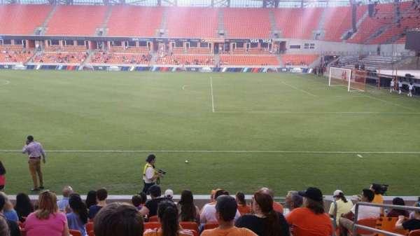 BBVA Stadium, secção: 104, fila: k, lugar: 3