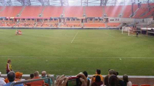 BBVA Stadium, secção: 103, fila: h, lugar: 29