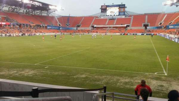 BBVA Stadium, secção: 133, fila: f, lugar: 17