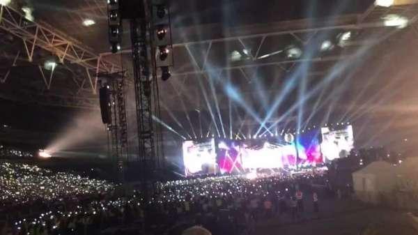 Wembley Stadium, secção: 113, fila: 14, lugar: 32
