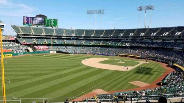 Oakland Coliseum, secção: 230, fila: 14, lugar: 14