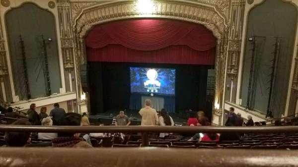 Golden Gate Theatre, secção: Balcony RC, fila: A, lugar: 124