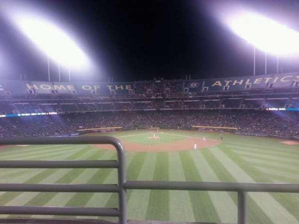 Oakland Coliseum, secção: 241, fila: 2, lugar: 16