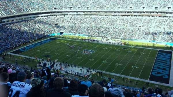 Bank of America Stadium, secção: 538, fila: 12, lugar: 2