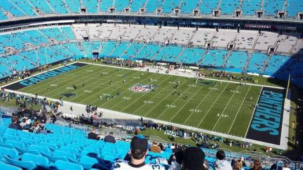 Bank of America Stadium, secção: 538, fila: 12, lugar: 1