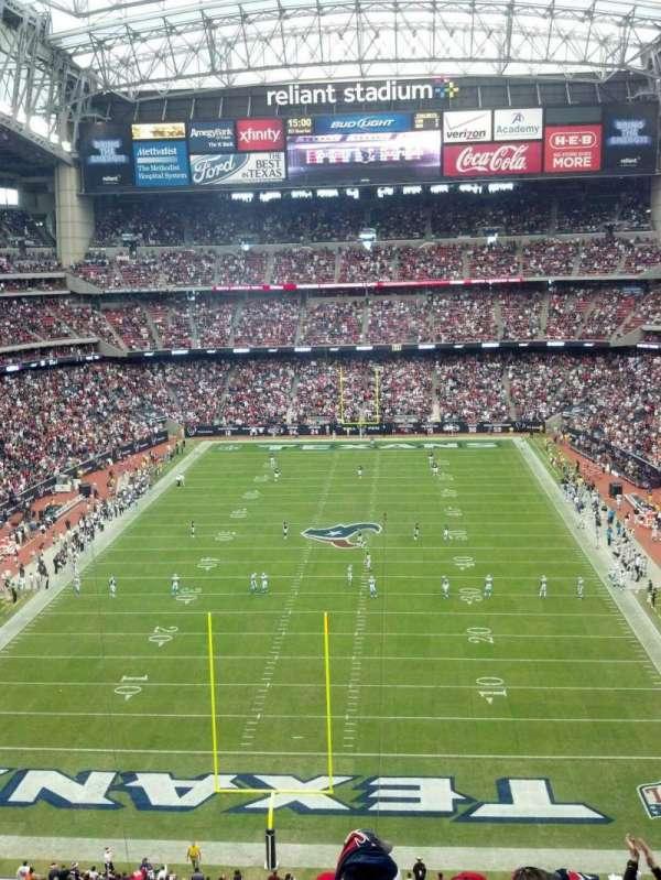 NRG Stadium, secção: 546, lugar: 23 and 24