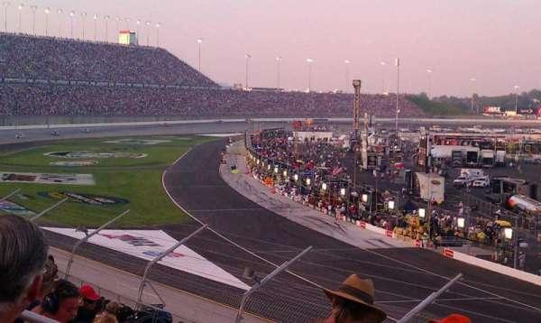 Kentucky Speedway, secção: Grandstand 1C, fila: 13, lugar: 13