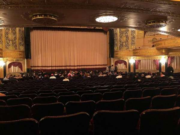 Warner Theatre (Washington, D.C.), secção: Orchestra, fila: X, lugar: 118