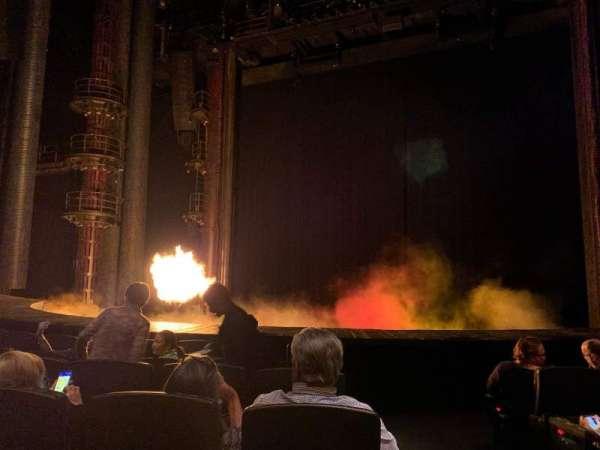 KÀ Theatre - MGM Grand, secção: 103, fila: F, lugar: 22