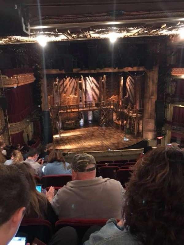 CIBC Theatre, secção: Mezzanine L, fila: J, lugar: 3