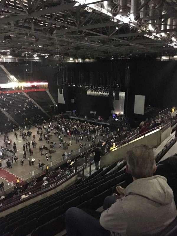 Manchester Arena, secção: 212, fila: K, lugar: 10