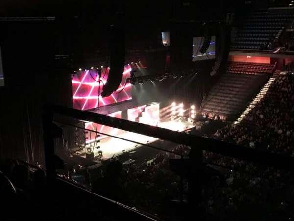 Mohegan Sun Arena, secção: 116, fila: H, lugar: 21