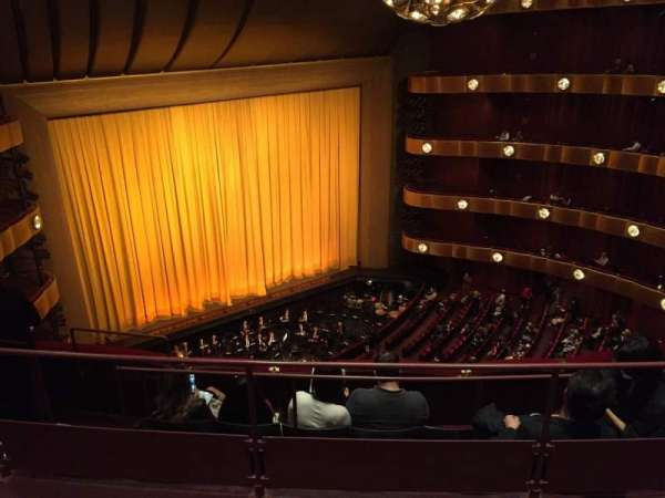 Metropolitan Opera House - Lincoln Center, secção: 4th Ring, fila: C, lugar: 29