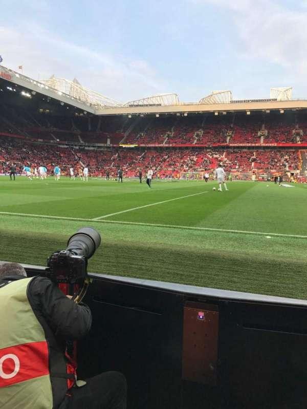 Old Trafford, secção: W105, fila: AA, lugar: 74