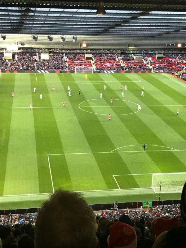 Old Trafford, secção: W3102, fila: 34, lugar: 154