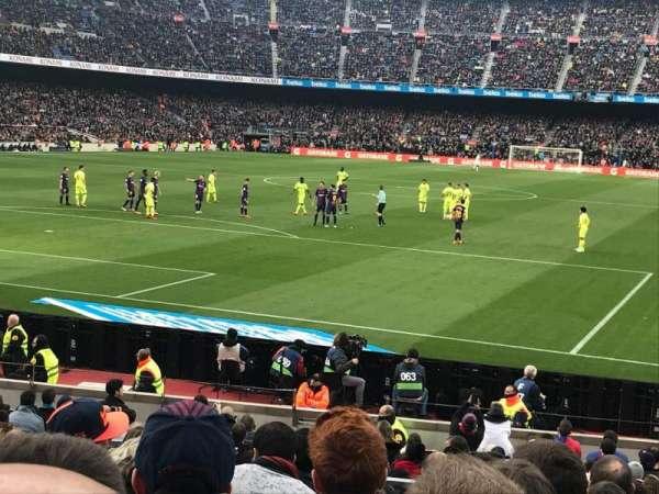Camp Nou, secção: Nike Goal, fila: 30, lugar: 35