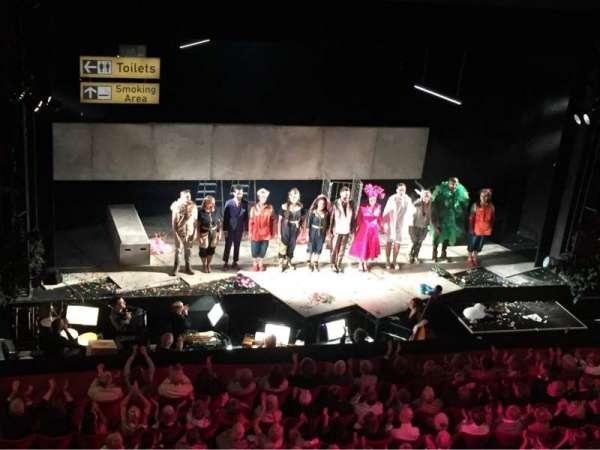 Longborough Festival Opera, secção: Balcony, lugar: 8