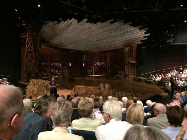 Chichester Festival Theatre, secção: Door 2, fila: K, lugar: 49