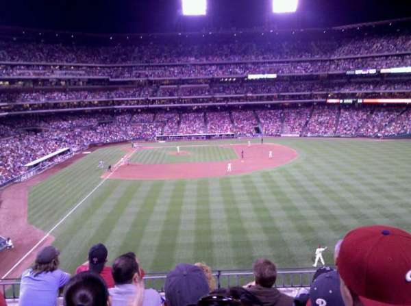 Citizens Bank Park, secção: 204, fila: 5, lugar: 6