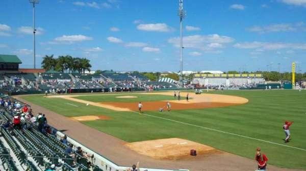Roger Dean Chevrolet Stadium, secção: patio