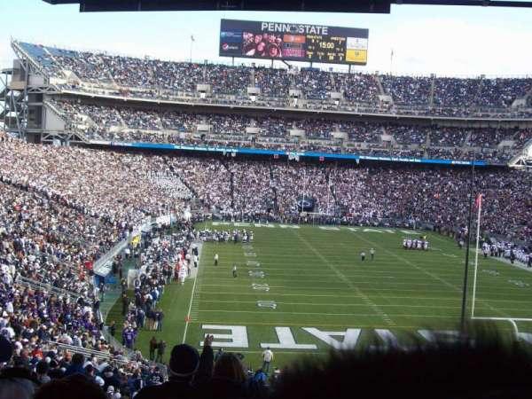 Beaver Stadium, secção: NH, fila: 55