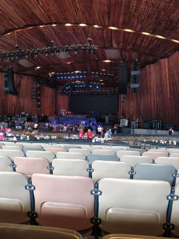 Blossom Music Center , secção: 23, fila: T, lugar: 10