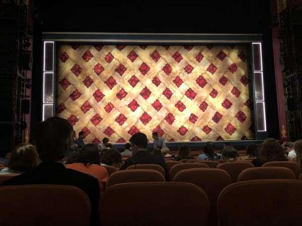 National Theatre (DC), secção: Orchestra, fila: M, lugar: 109